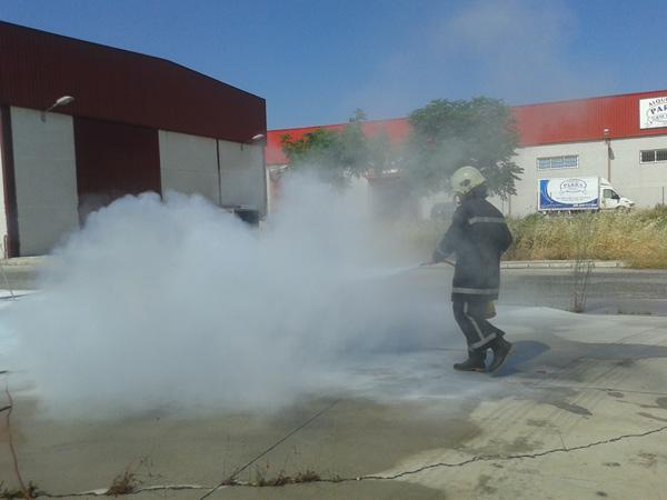 Curso de prácticas sobre Lucha contra Incendios