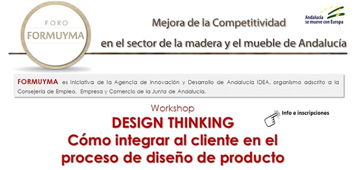 Workshop Design Thinking IAT Aemmce Fabricantes del Mueble Comarca de Écija