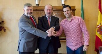 Firmado Convenio Marco entre Diputación de Sevilla, Ayuntamiento de Écija y Aemmce para apoyar al sector madera y mueble