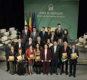 Entrega Premios Bandera de Andalucía 2016 28F