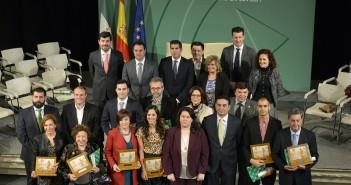 Entrega Premios Bandera de Andalucía Sevilla 2016