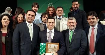 Entrega de premio BANDERA DE ANDALUCIA 2016 28F AEMMCE