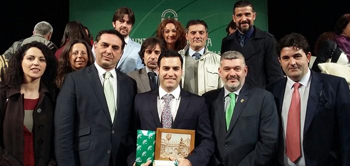 Entrega de premio AEMMCE BANDERA DE ANDALUCIA 2016