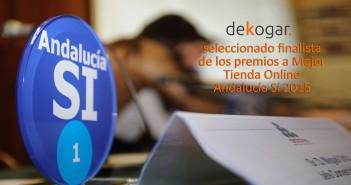 Premios Andalucía Sí Mejor Tienda Online Andaluza 2015 Andalucía SI - Dekogar