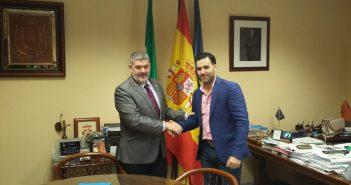 Firma del convenio marco Ayuntamiento de Écija y Aemmce. Nuevo convenio marco