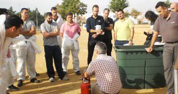 Nuevo Curso de Lucha contra Incendios - Servicio prevención de riesgos laborales Aemmce