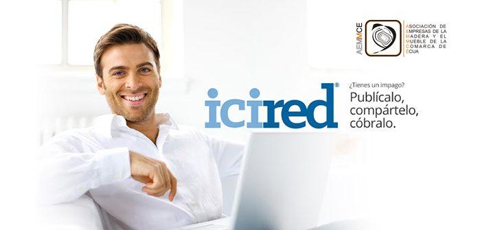 Convenio de colaboración con ICIRED para la reclamación de impagados