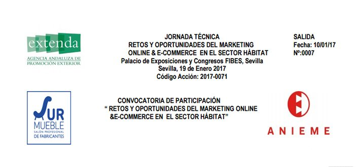 JORNADA TÉCNICA RETOS Y OPORTUNIDADES DEL MARKETING ON LINE & E-COMMERCE EN EL SECTOR HABITAT