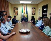 Reunión de la nueva directiva de AEMMCE con el Ayuntamiento de Écija