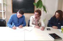 Firma convenio Serviluz Aemmce recogida residuos