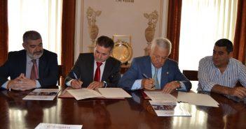 Convenio colaboración Punto Cámara en Écija Aemmce
