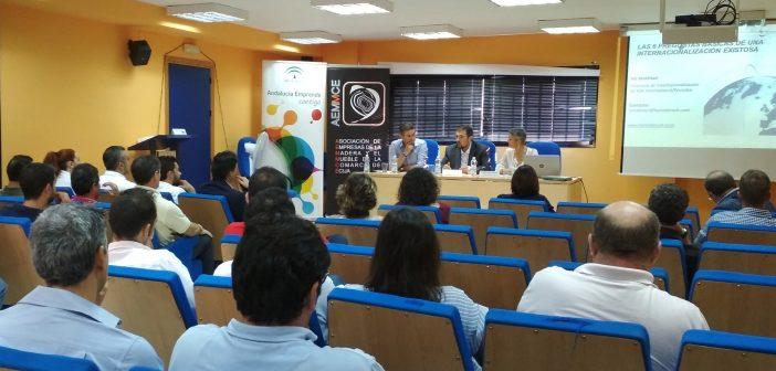 JORNADA INTERNACIONALIZACIÓN SECTOR MADERA MUEBLE