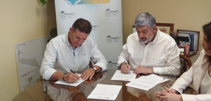 Nuevo convenio firmado con el Ayuntamiento de Écija
