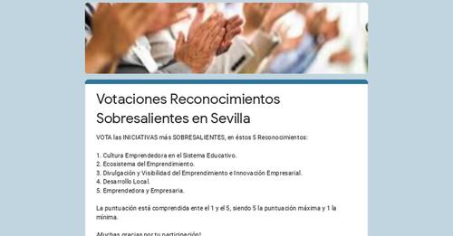AEMMCE participa en los  #PremiosEmprendemos en la provincia de #Sevilla organizados por Andalucía Emprende
