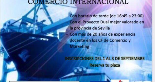 El IES San Fulgencio oferta un año más su Ciclo Superior de Comercio Internacional